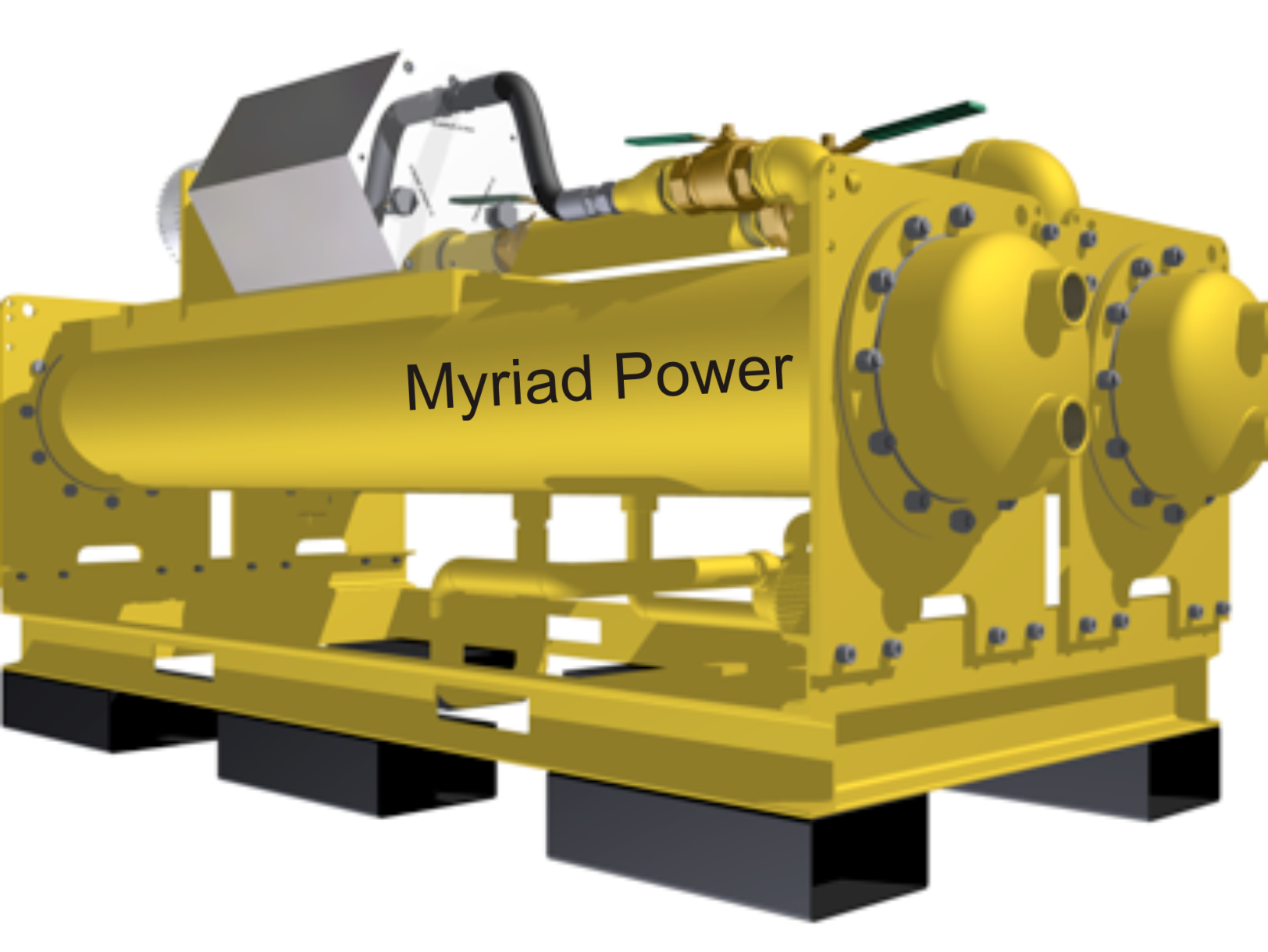 Myriad Power Rankine Turbines